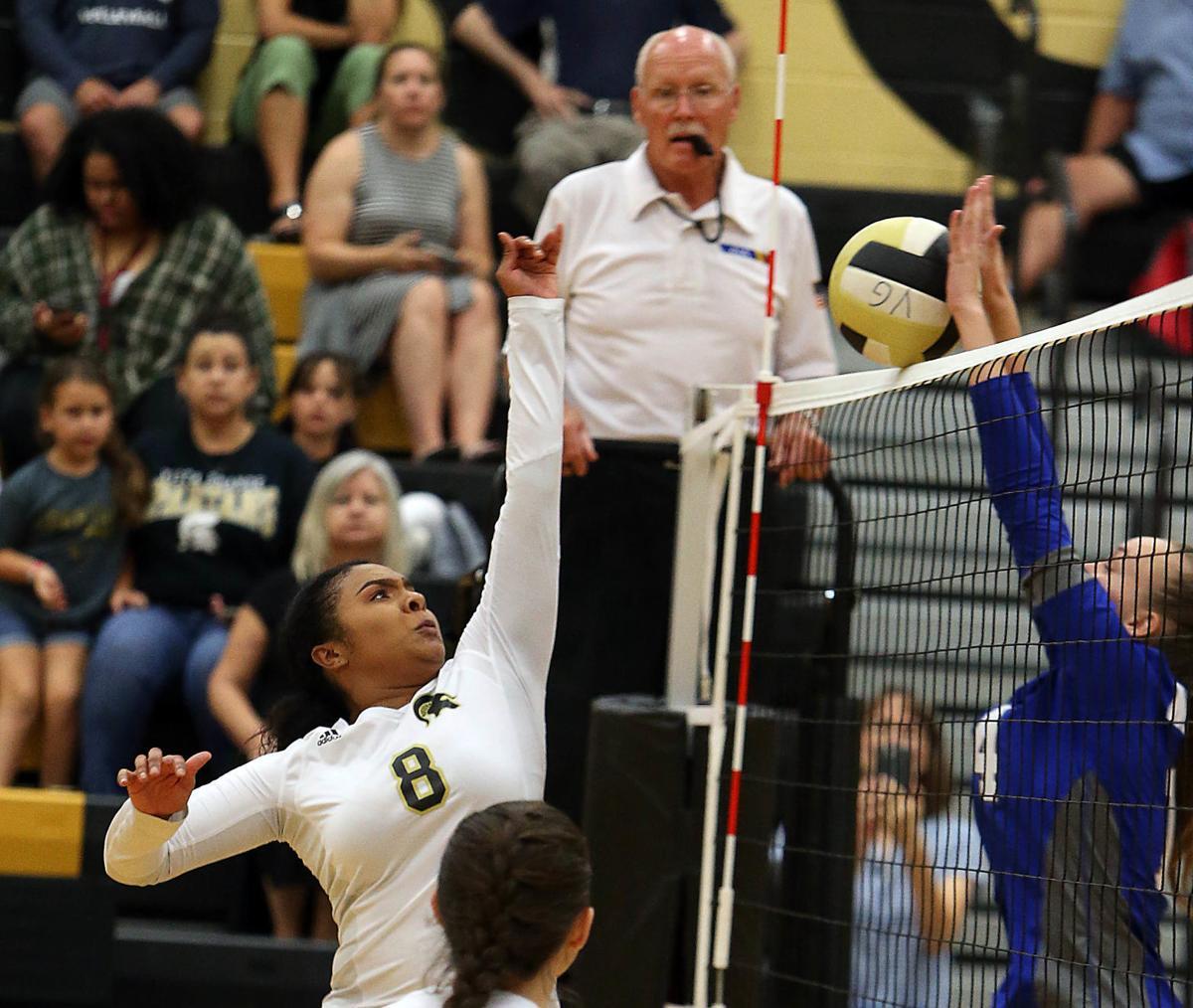 Vista Grande vs. Mequite volleyball 9/5/19
