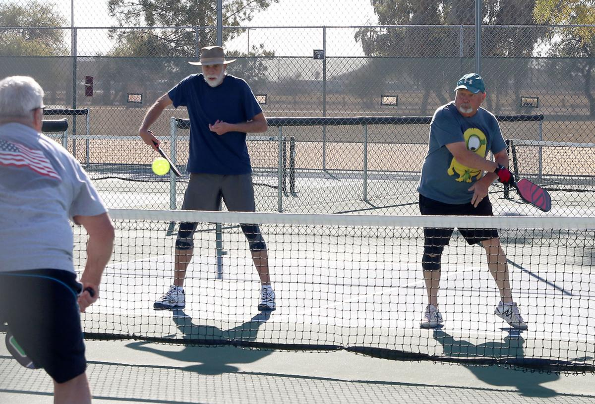 Pickleball @ Dave White Park 1/5/21