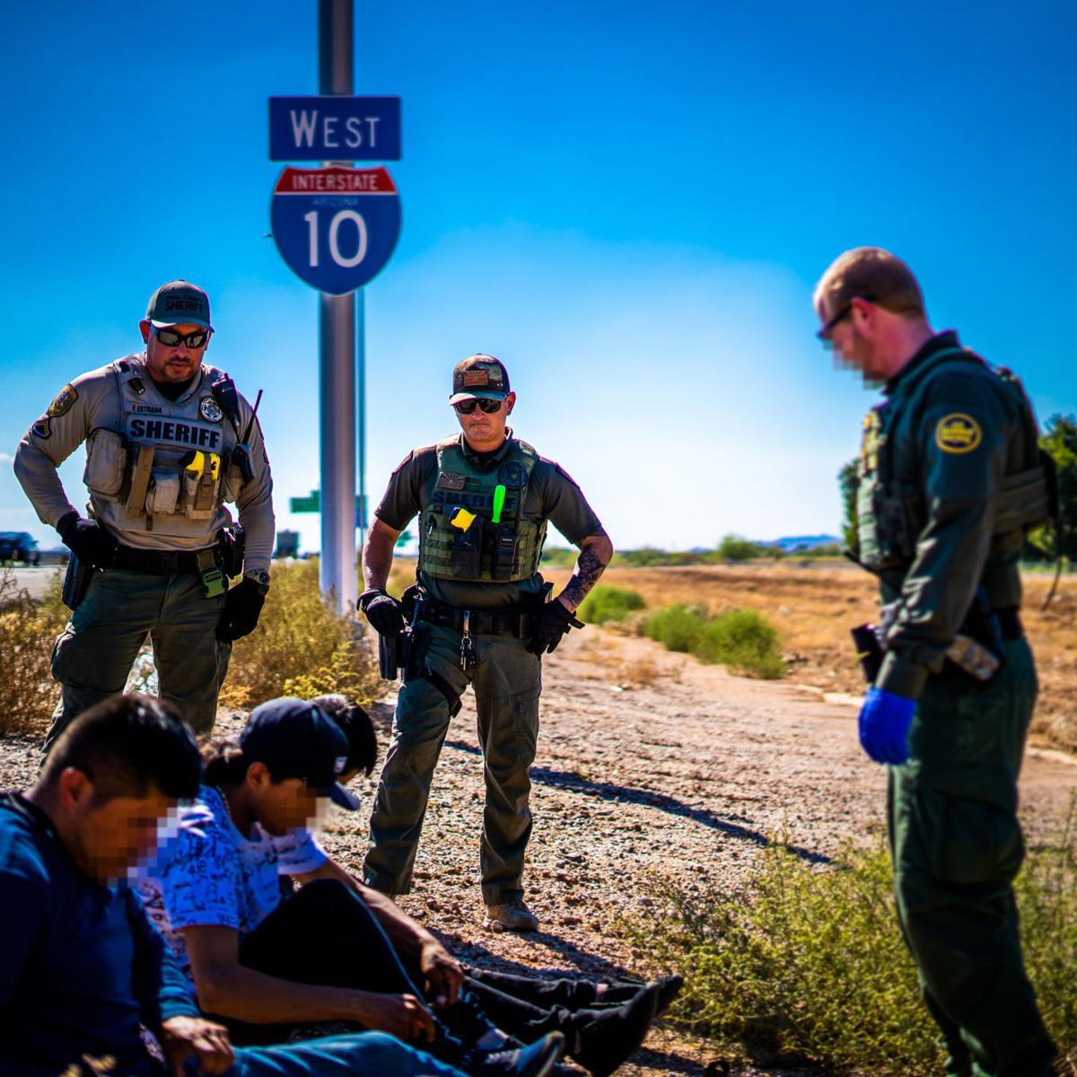 Human smuggling on I-10