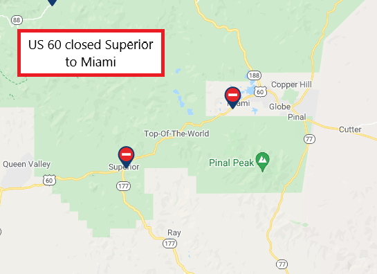 US 60 still closed
