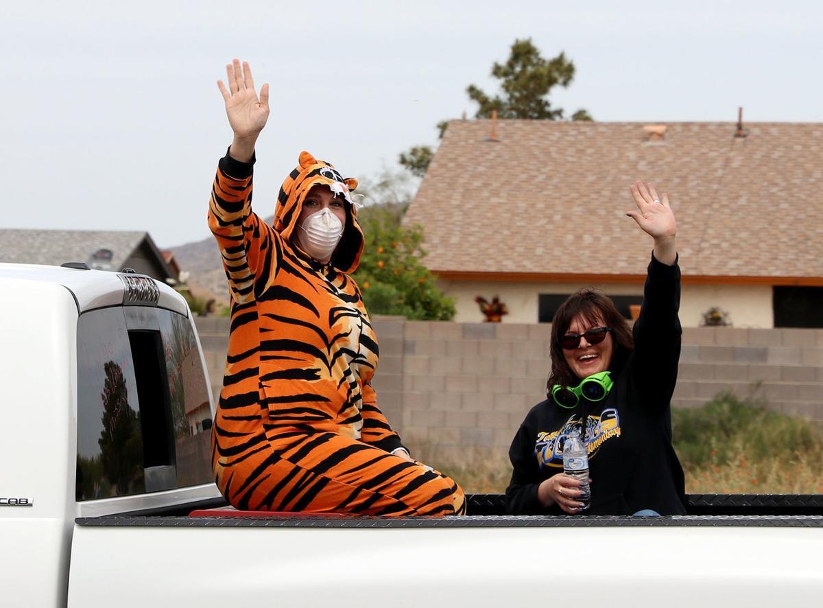 TSD teacher's parade