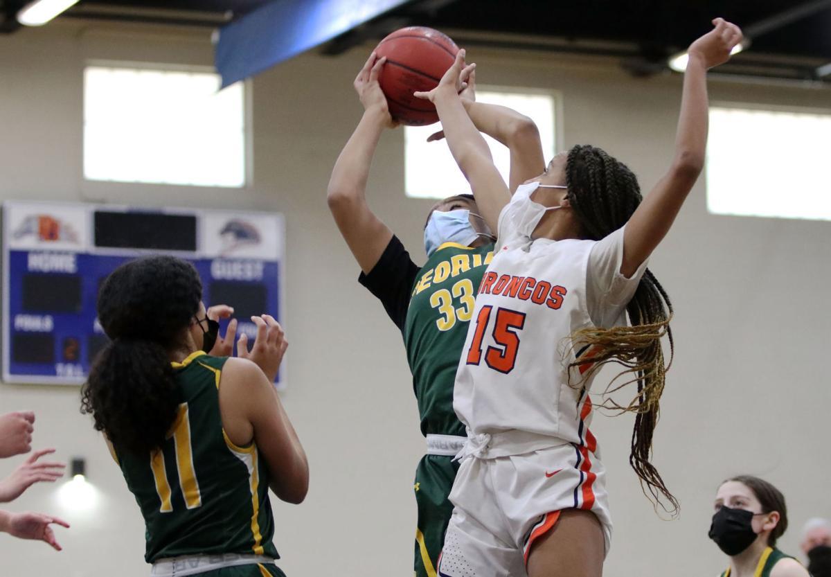 Girls basketball: Poston Butte vs. Peoria 2/15/21