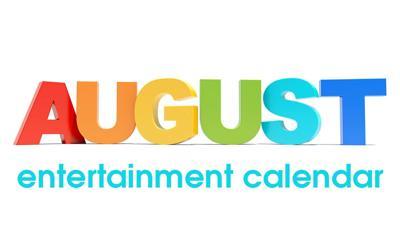 August Entertainment Calendar logo