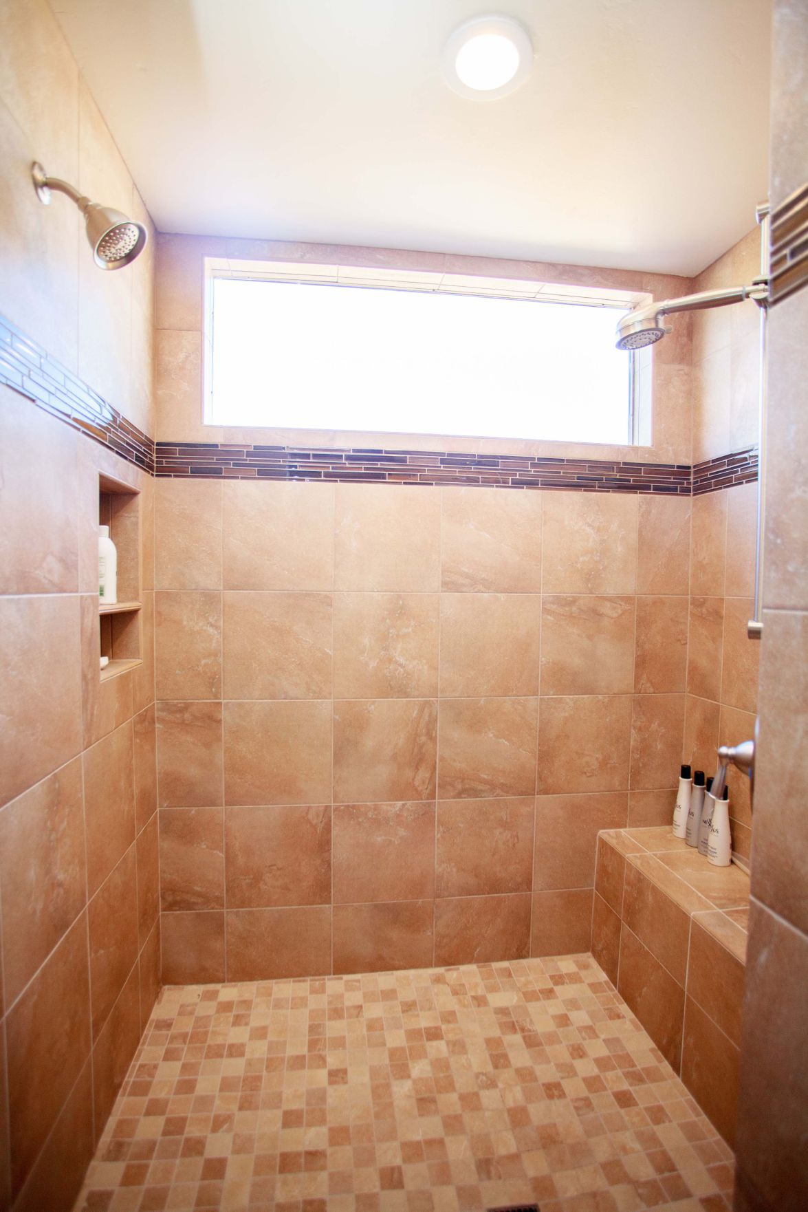 Seating Can Be Built Into A Shower During A Remodel Or Added Later.