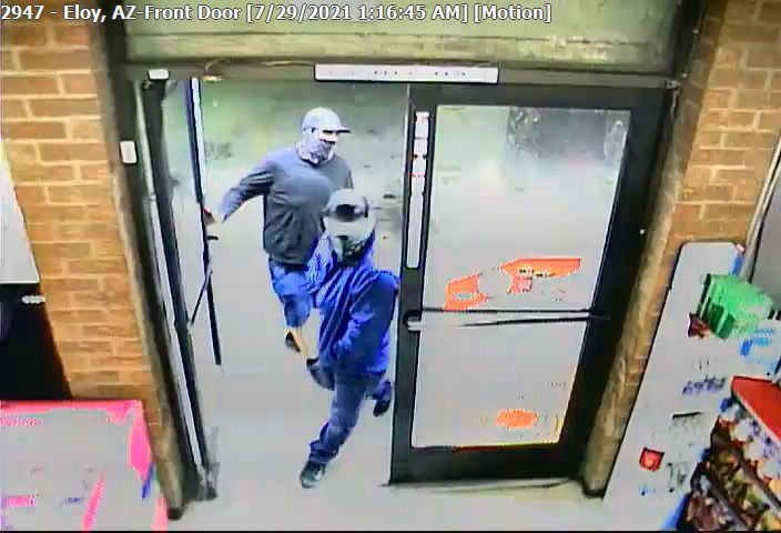 Eloy armed robbery suspects