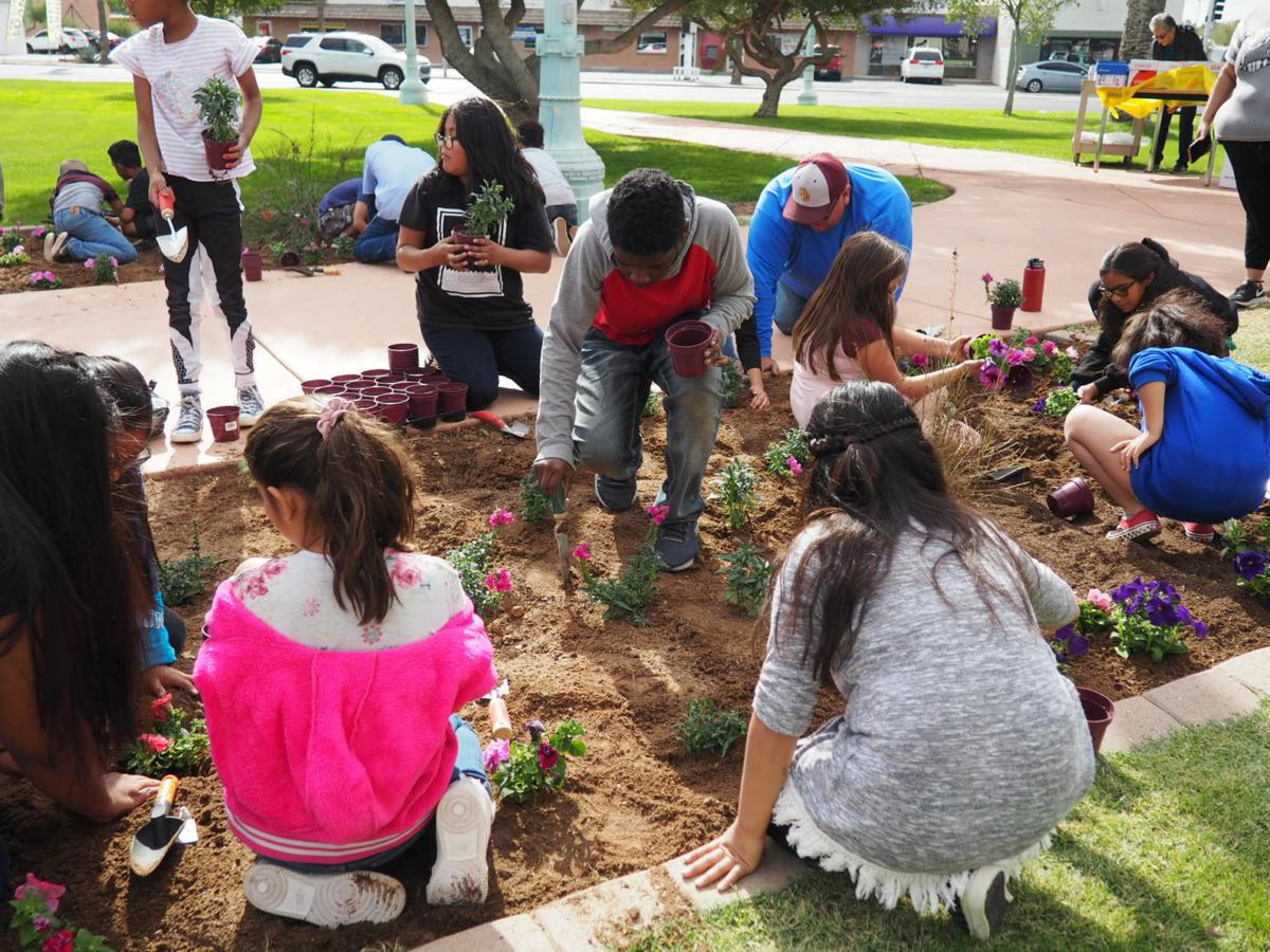 2019 Children's Garden: kids dig in