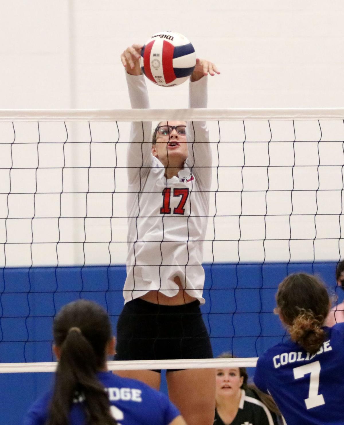 Volleyball: Coolidge vs. ALA Ironwood 9/28/21