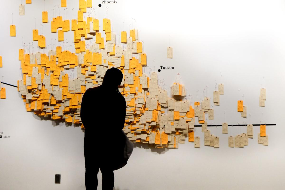 pretty nice 268ff 5255e 3,000 toe tags used in exhibit on migrant deaths in Arizona ...