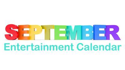 September Entertainment Calendar logo