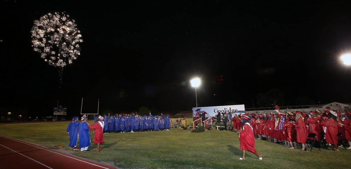 Coolidge High School graduation 2021