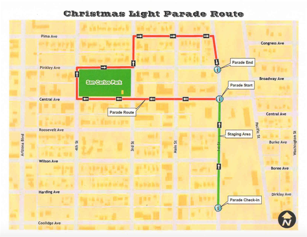 Coolidge Christmas Light Parade 2020 Time Light Parade undergoes route change | News | pinalcentral.com