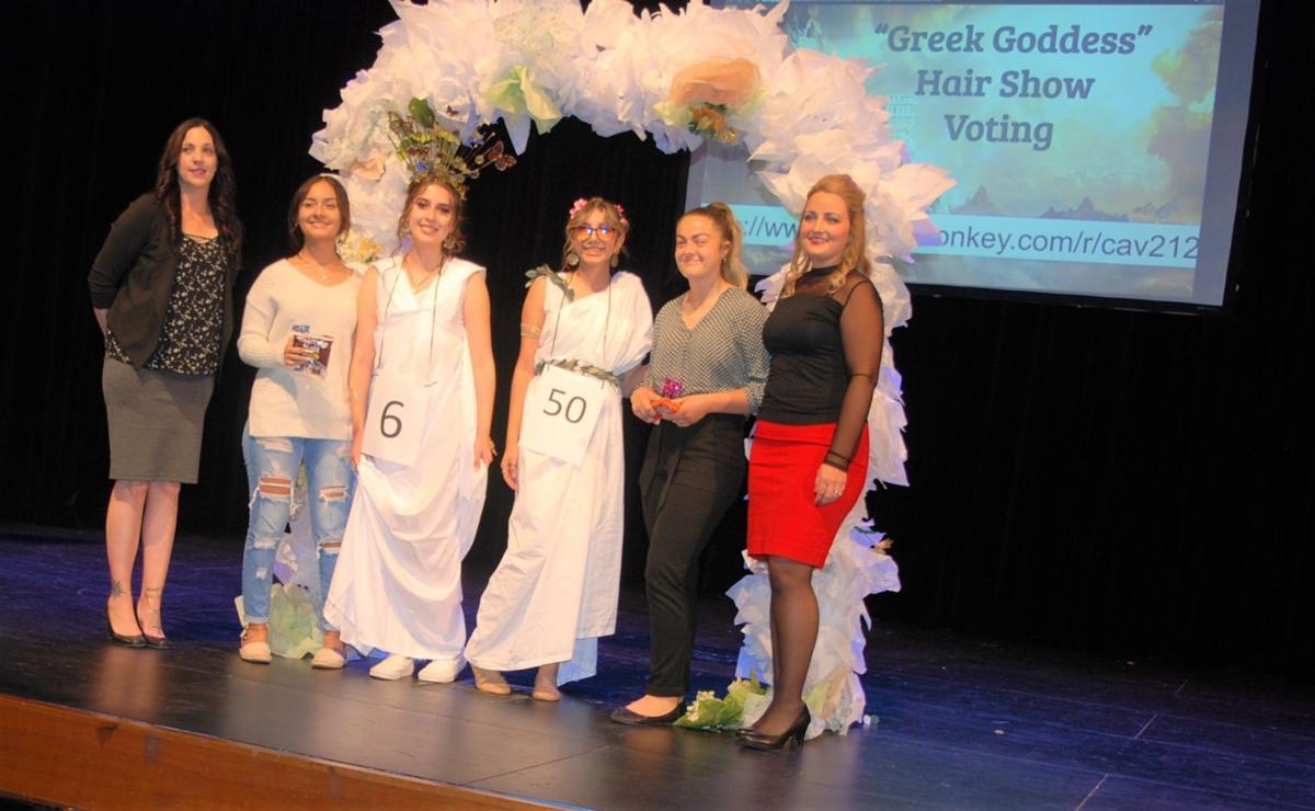 Greek Goddess Hair Show winners