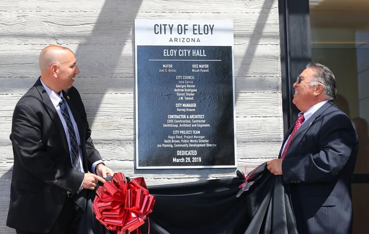Eloy City Hall ceremony