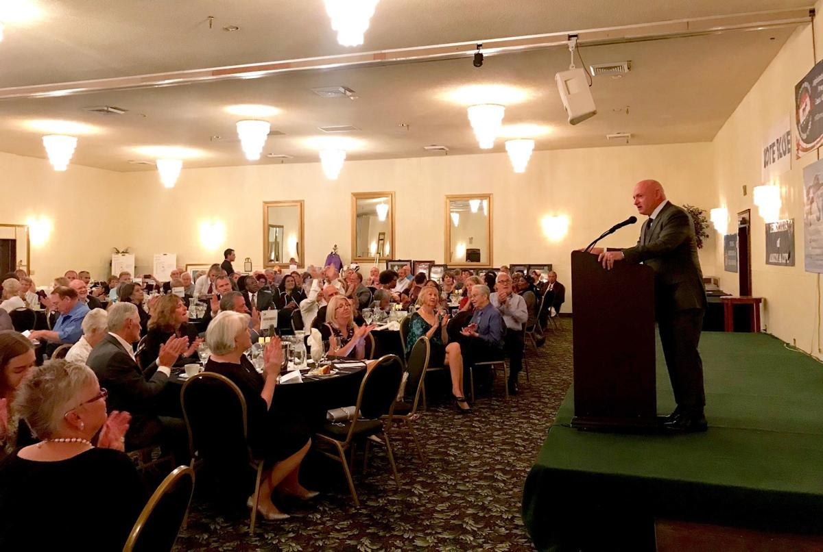 Kelly speaks to Pinal County Democrats at gala