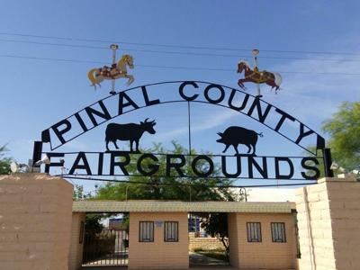 Pinal County Fairgrounds Entrance