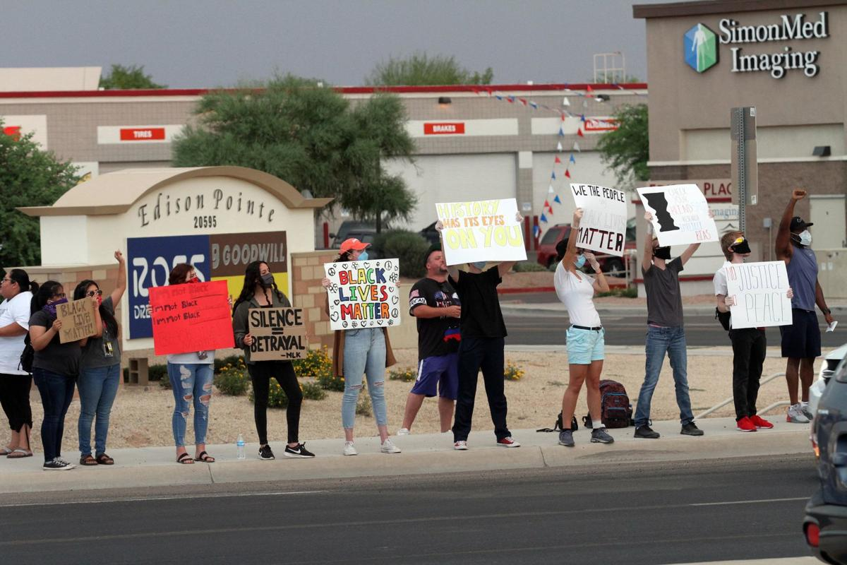 Maricopa protest