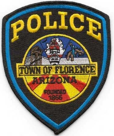 Florence Police Patch logo