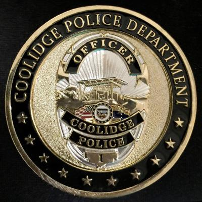 Coolidge police badge logo