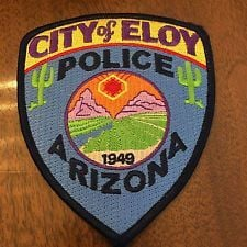 Eloy Police Patch