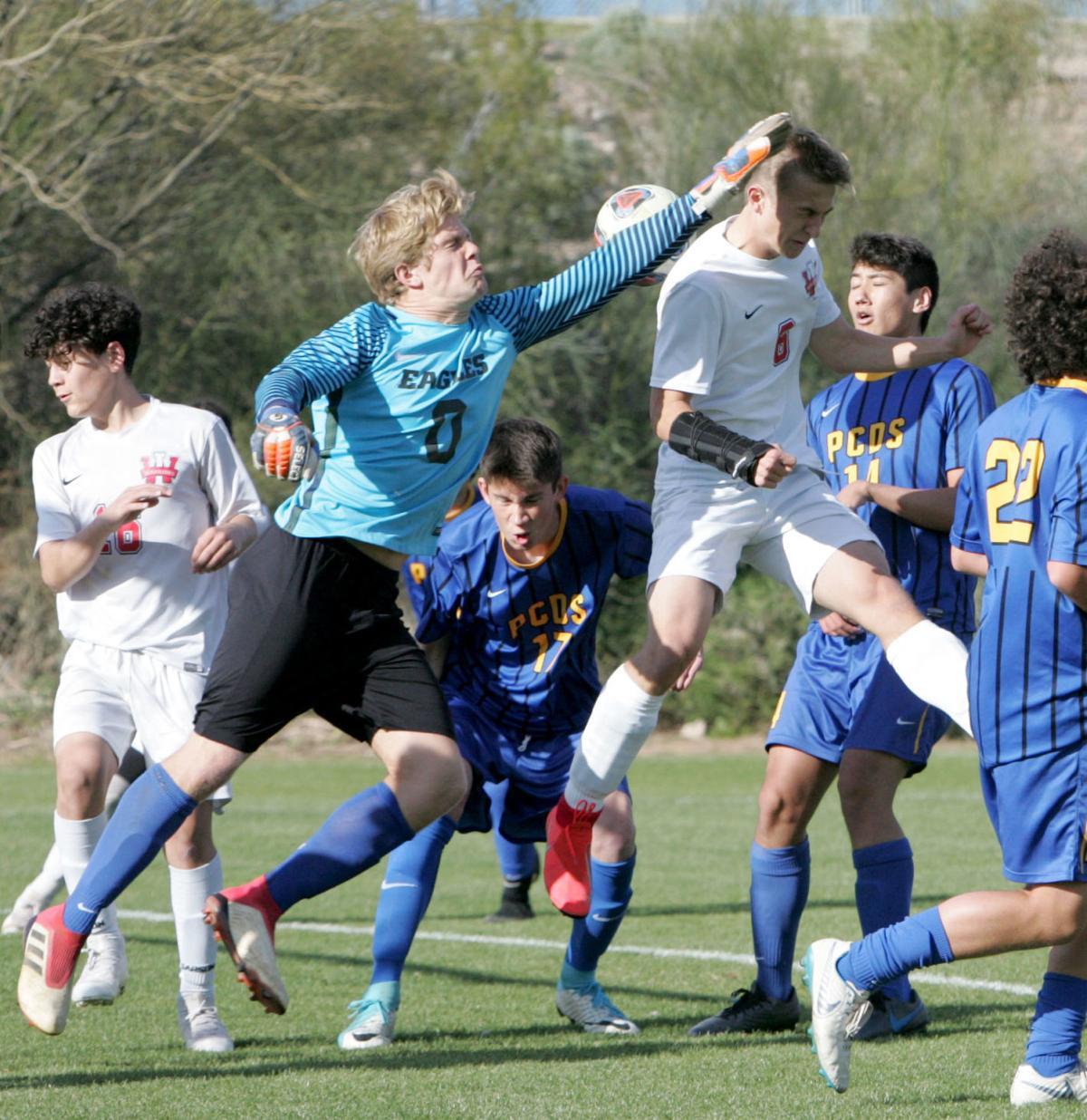 ALA Ironwood vs. Phoenix Country Day School soccer