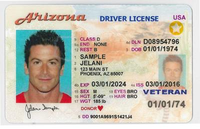 Arizona Driver License