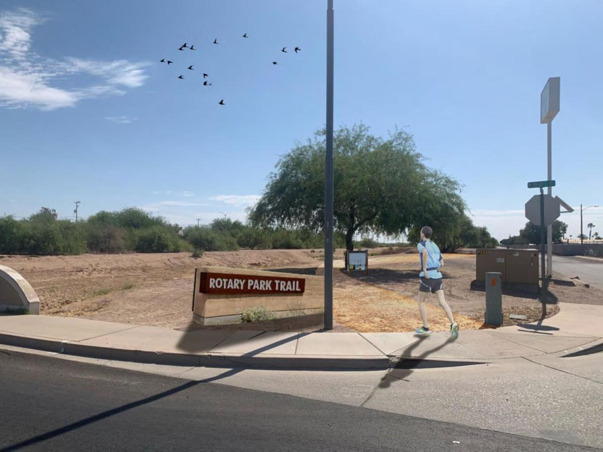 Community Trail Rendering
