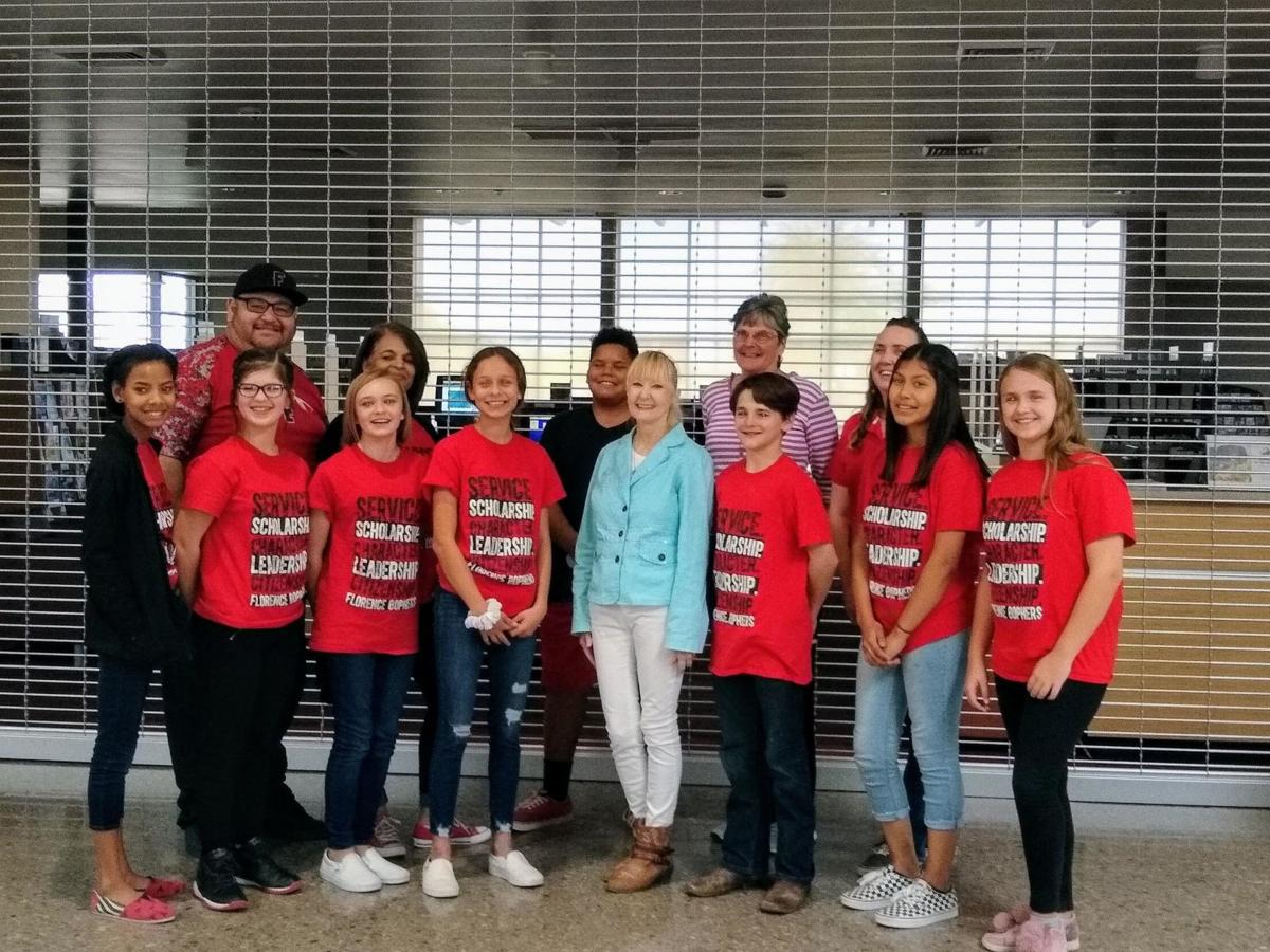 Student Council volunteers