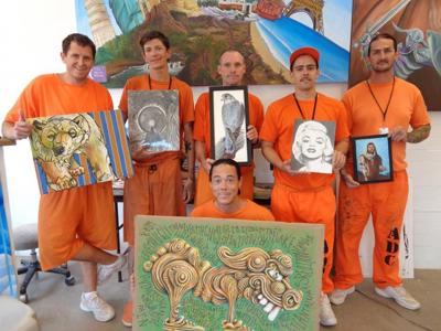 Sales from 'Inkcarcerated' gallery show of Florence inmates will