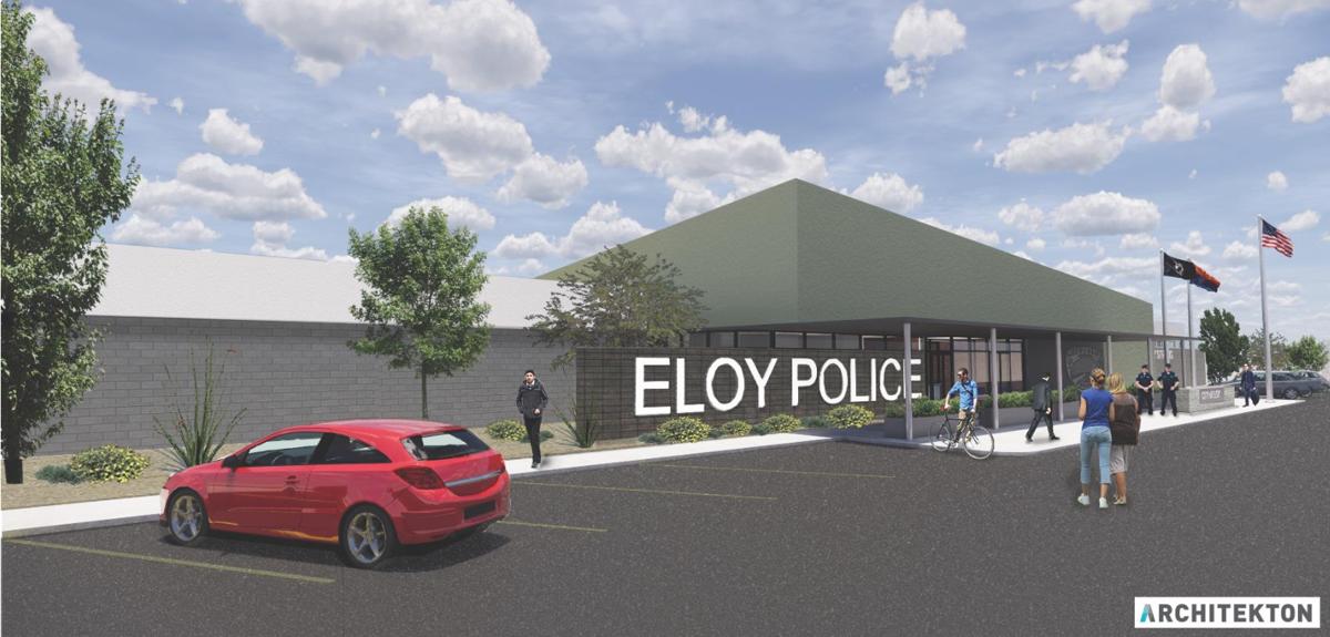 Eloy PD building design