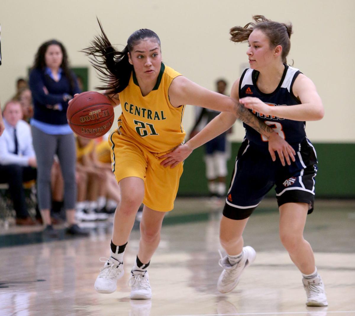 Central vs. Pima women's basketball