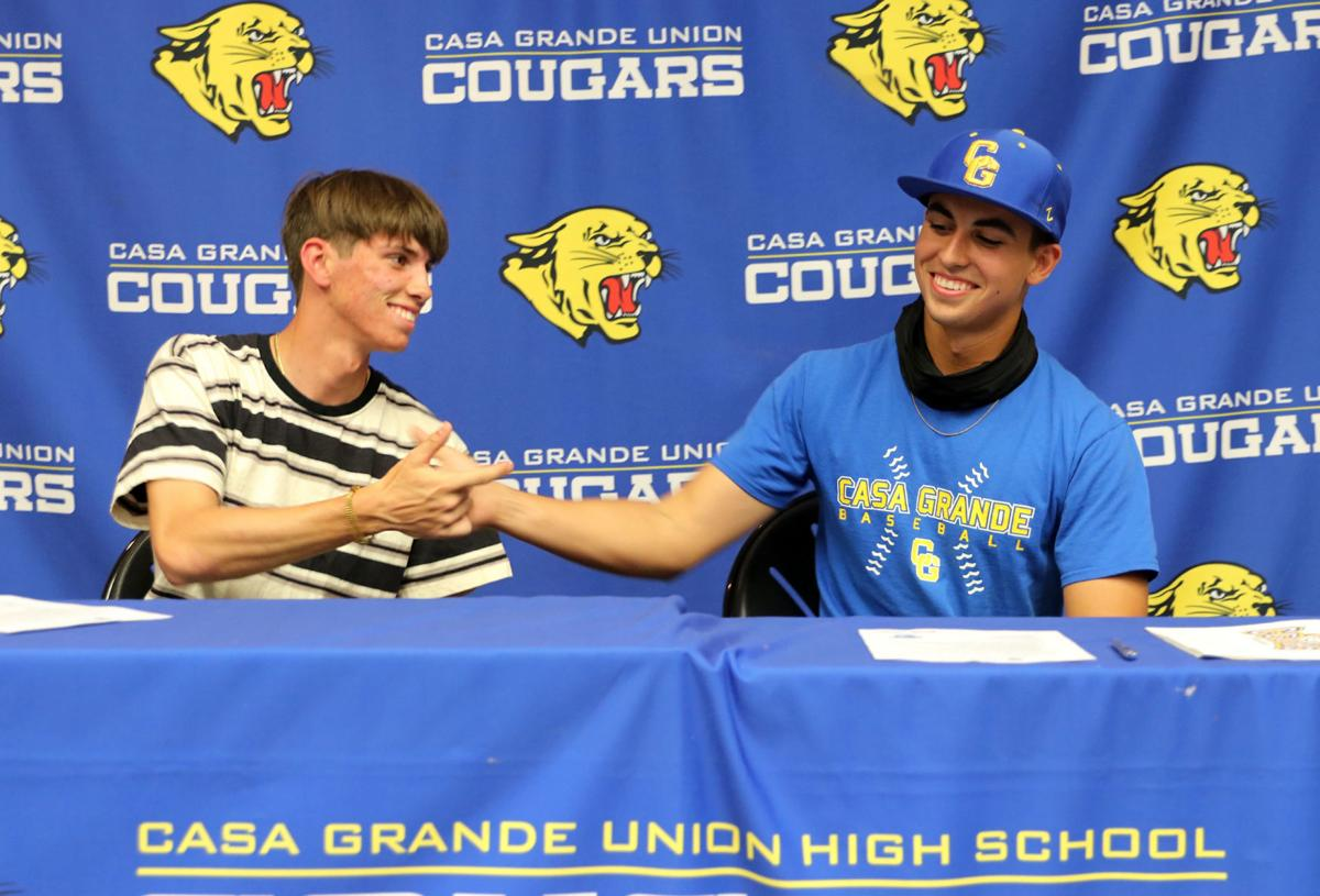 Aaron and Adam Blunt signing