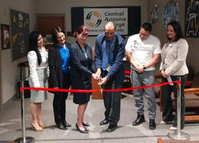 CAC and Poston Butte H.S. celebrate new CAC Connect Partnership