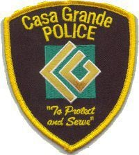 Casa Grande Police patch