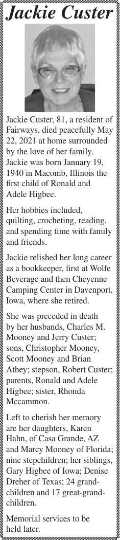 Jackie Custer
