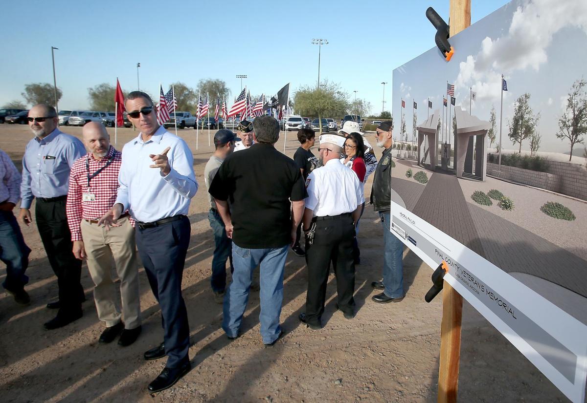 Pinal County Veterans Memorial groundbreaking