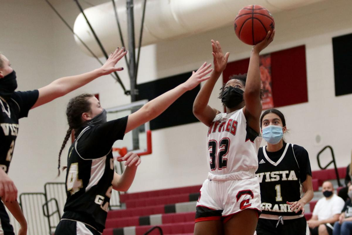 Girls basketball: Vista Grande @ Combs 2/5/21