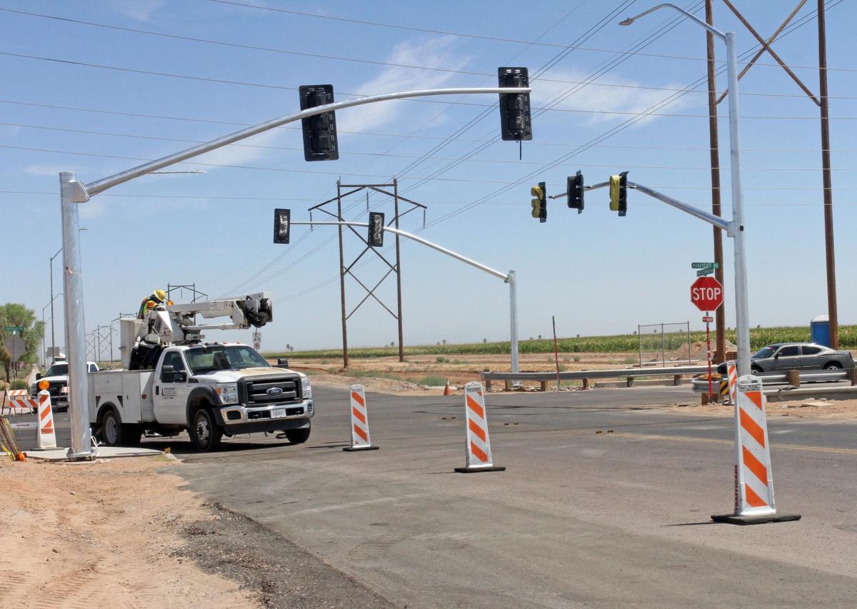 Maricopa traffic light