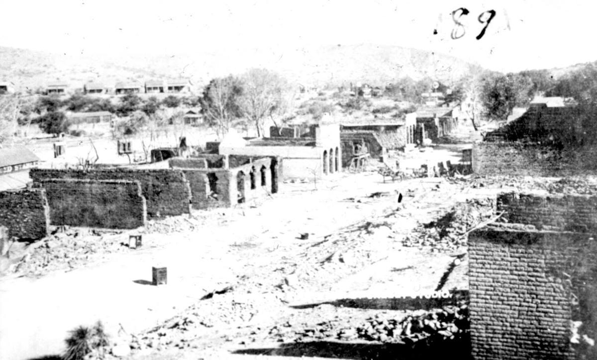 The 1894 fire that burned Globe