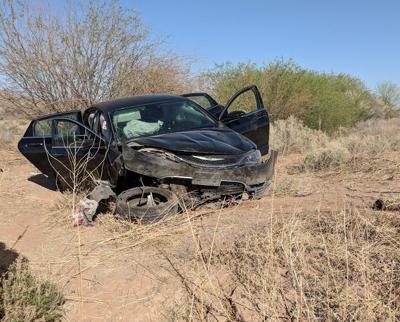 Driver walks away from mangled car after crash near CG   Area News