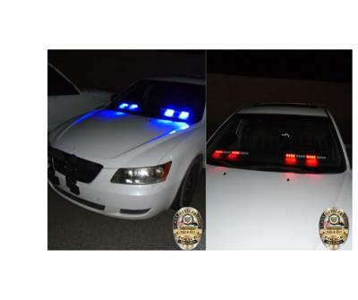 CG Police warn of fake cop cars