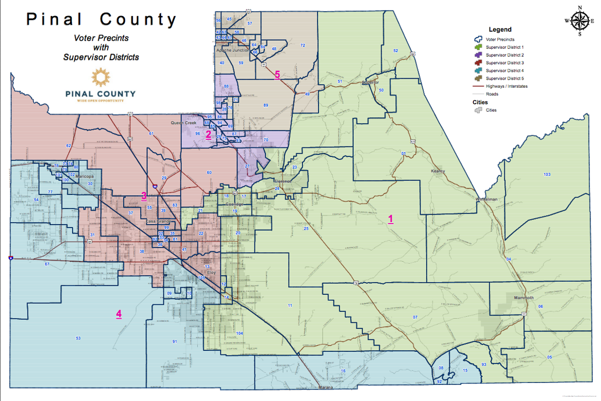 Pinal County Districts