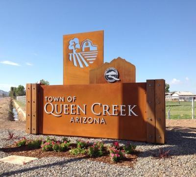 Queen Creek sign