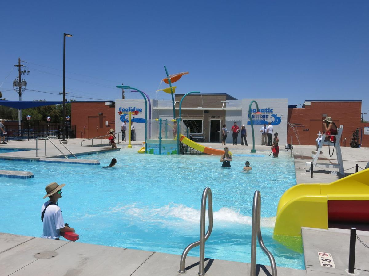 Coolidge Pool Party