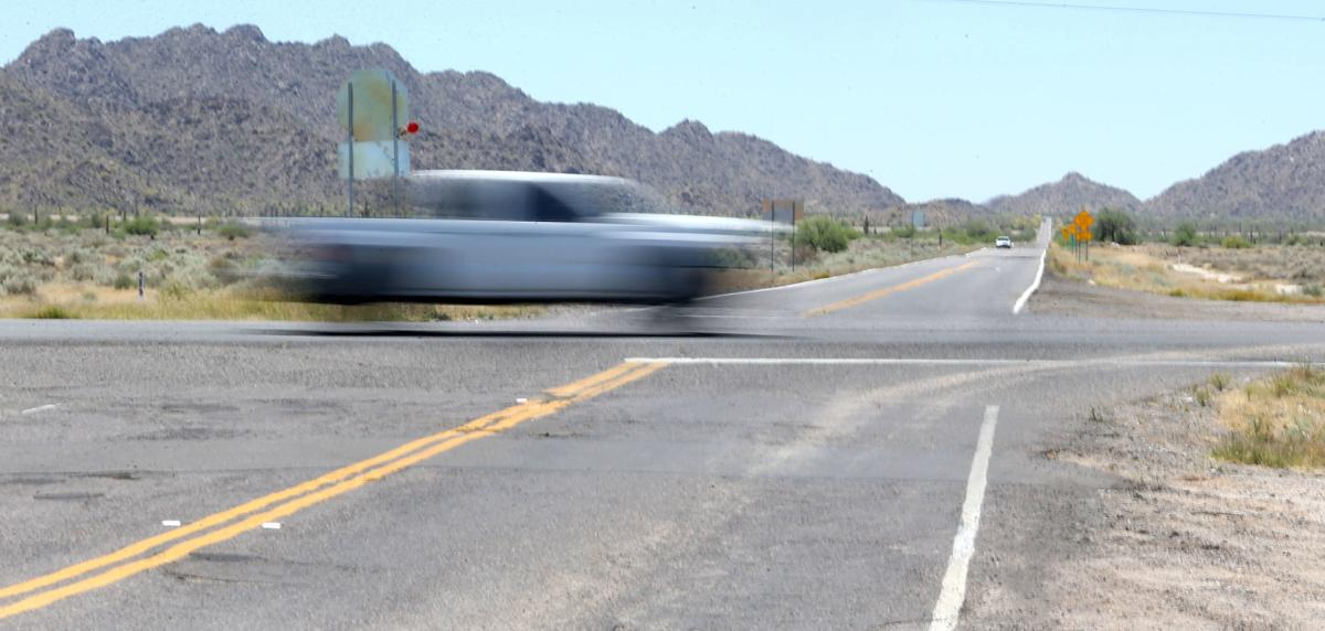 Highway 87 - 187 junction