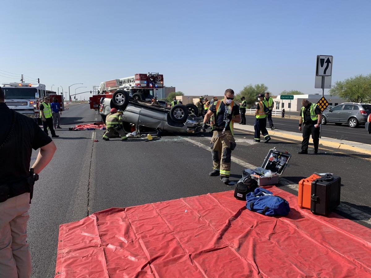 SR 347 Farrell collision