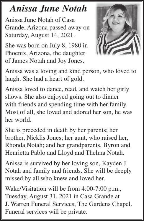 Anissa June Notah