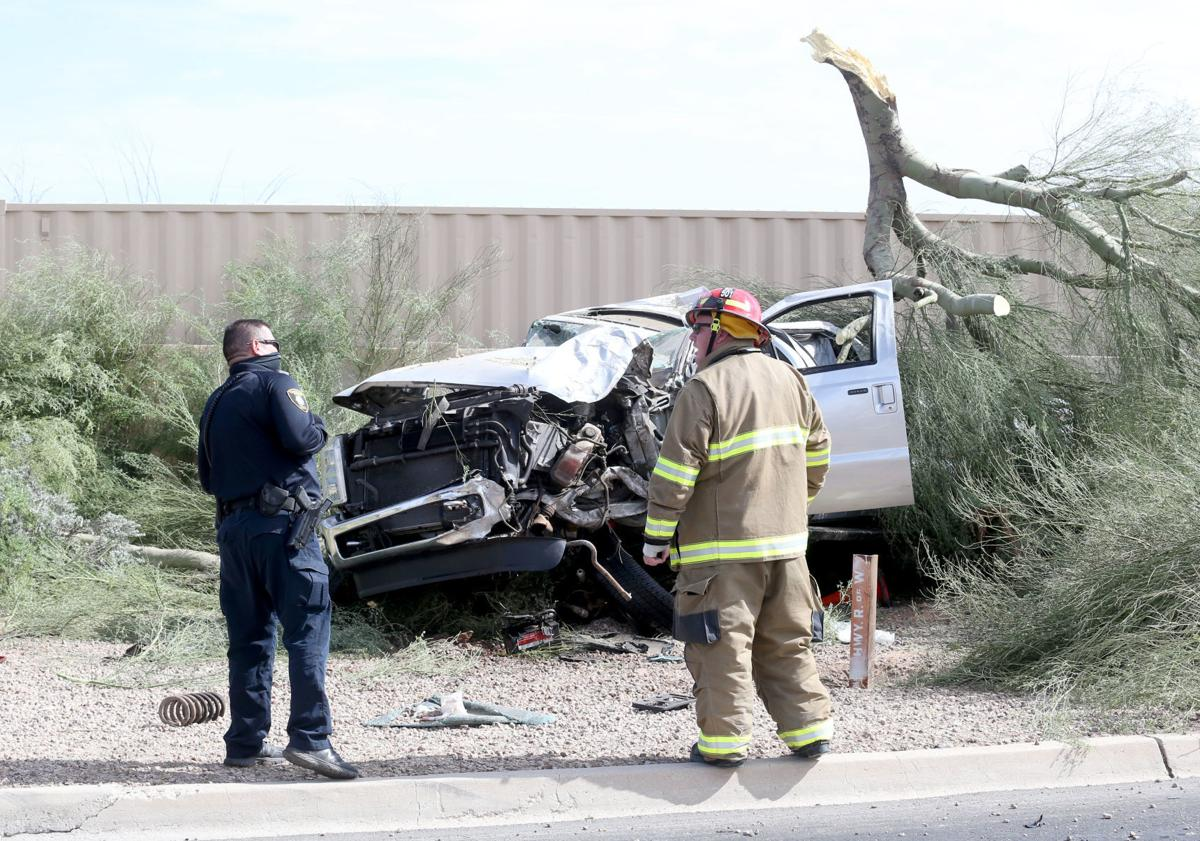 Rollover on Arizona 84