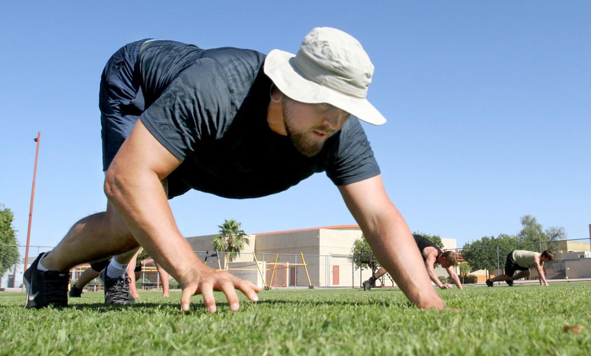 Apache Junction football practice