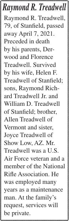 Raymond R. Treadwell