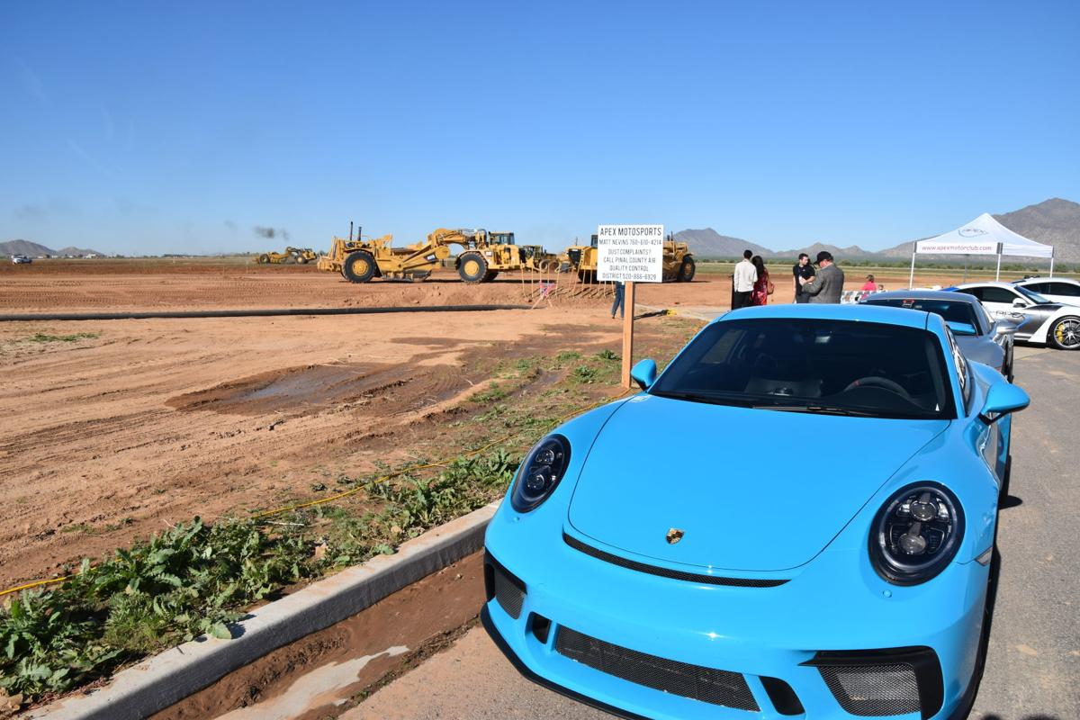 APEX breaks ground on future Pinal racetrack facility